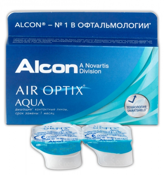 AIR OPTIX AQUA (1 ЛИНЗА)
